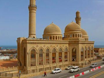 bibi eybat mosque baku - достопримечательности Баку