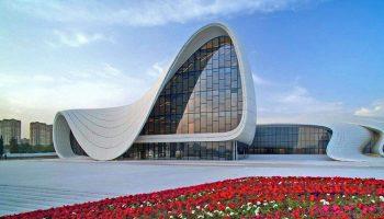 heydar aliyev center baku - достопримечательности Баку