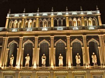 Музей литературы Азербайджана - достопримечательности Баку