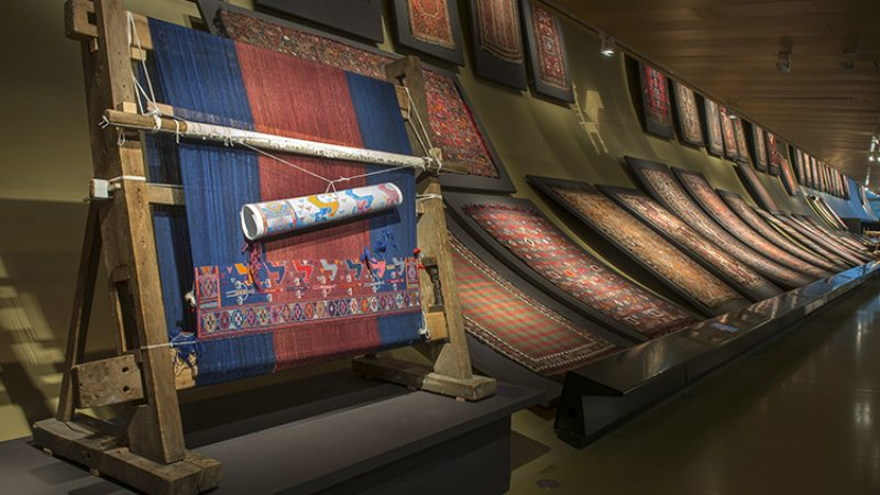 The Museum of Carpets and National Folklore Arts in Baku, Azerbaijan